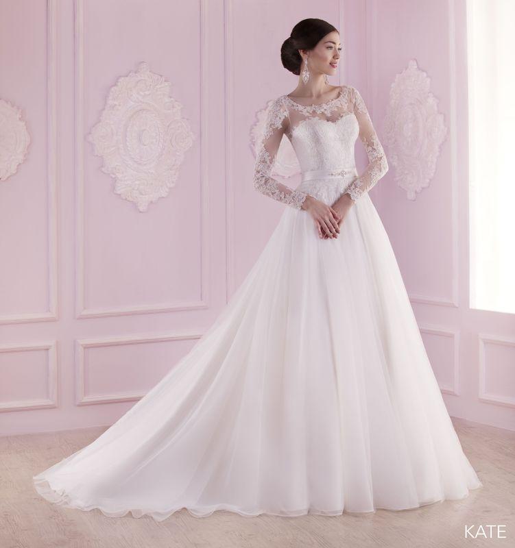 KATE ivoire ou blanc - collection Un jour, une mariée