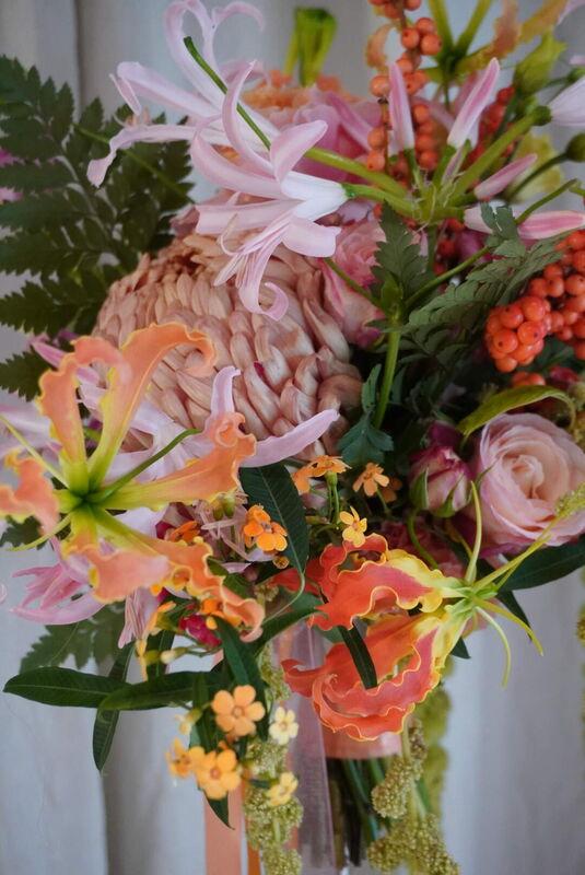Blouming floral art