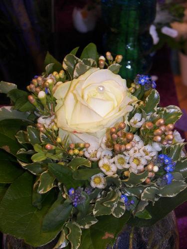 Beispiel: Strauß, Foto: Blumenhaus Gloeden.