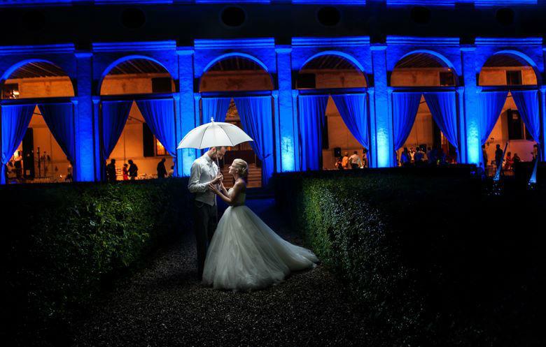 Illuminazione VillaFoscarini Rossi Strà