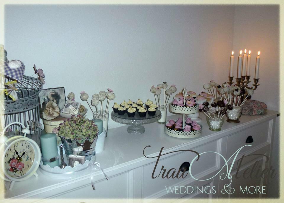 Beispiel: Der neue Trend - eine Candy-Bar zur Hochzeit, Foto: Trau Atelier.