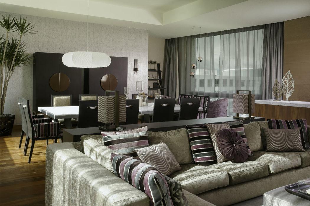 Suite Presidencial Luna - Living