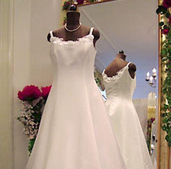 Beispiel: Brautkleid Aista, Foto: Braut- & Festkleider Lehmann.