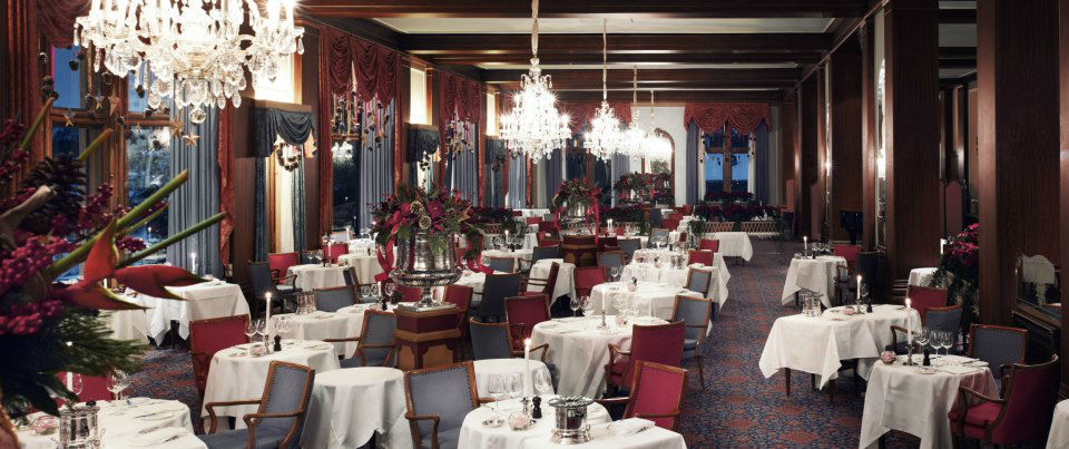 Beispiel: Le Restaurant, Foto: Badrutt's Palace Hotel.