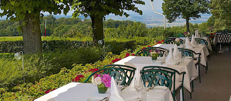 Beispiel: Hochzeitsbankett, Foto: Berghotel Tulbingerkogel.