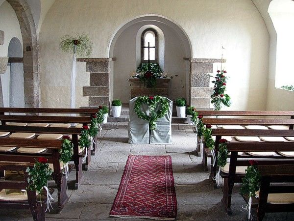 Beispiel: Traualtar, Foto: Burg Stettenfels.