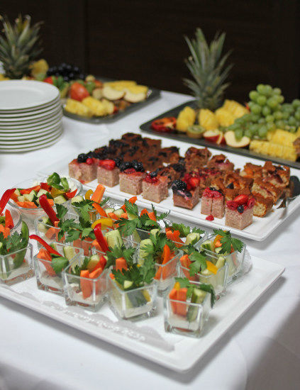 Beispiel: Buffet, Foto: Hotel eduCare.