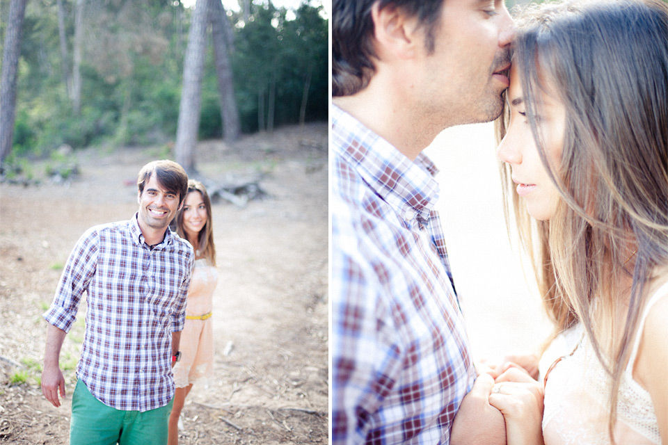 Beautiful Engagement session in Sintra