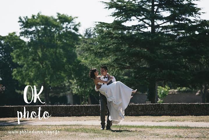 Mariage au Domaine Des Lys (Château mariage Ancenis). Credit photo : photographe de mariage Angers. OK Photo. www.photodumariage.fr