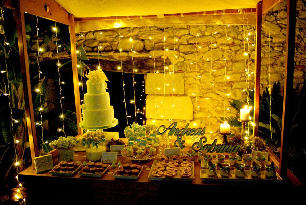mesa dulce de noche