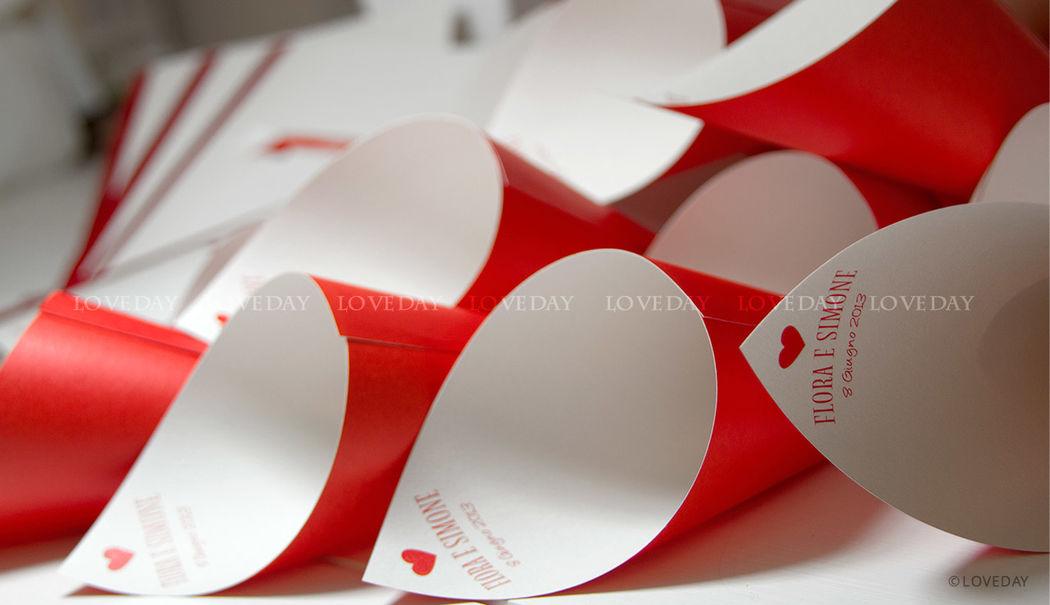Collezione Red Passion - coni riso