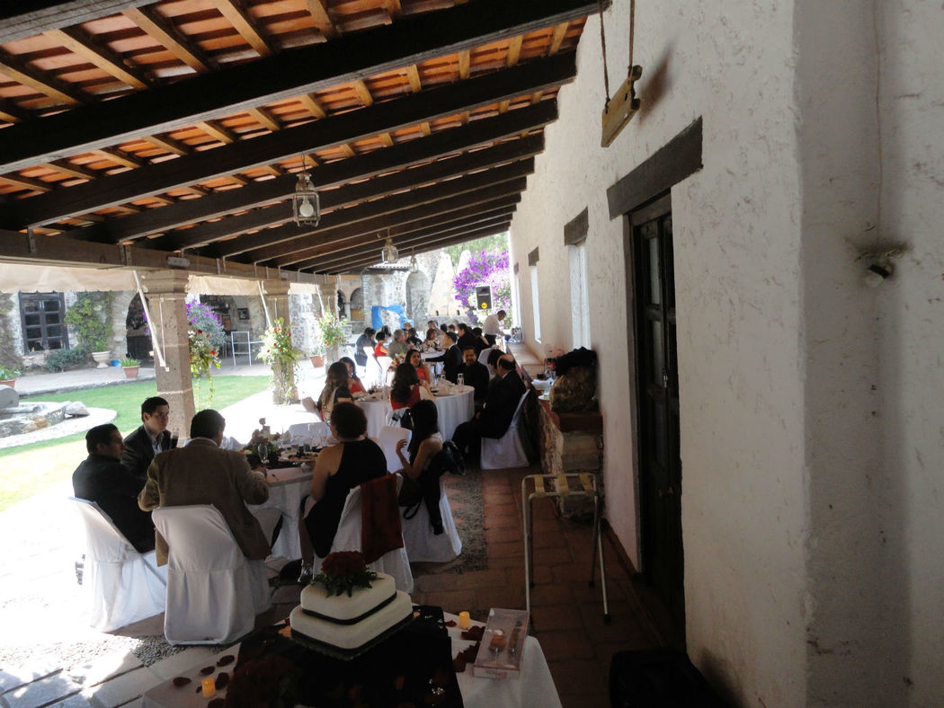 Llegando invitados. Boca Mina San Ramon, Guanajuato DJ Boda