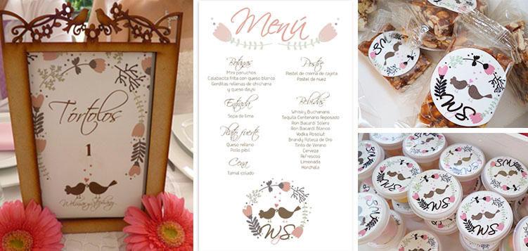 Tu boda tendrá detalles llenos de diseño
