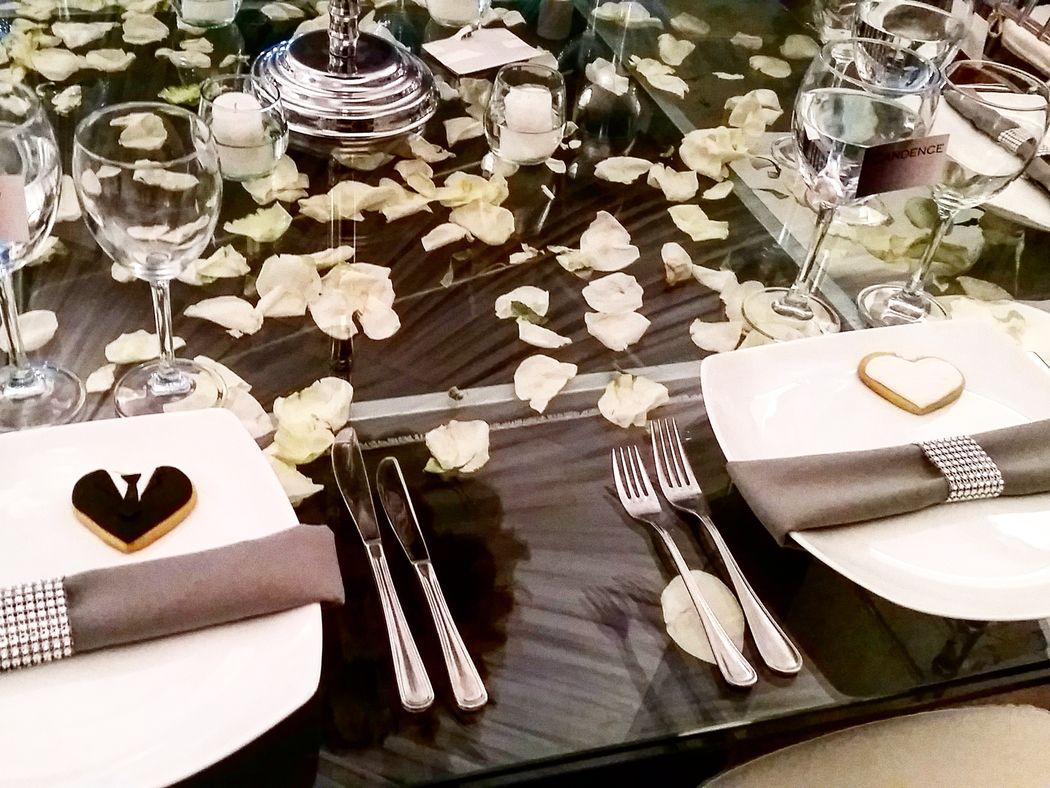 Galletas decoradas para recibir a tus invitados
