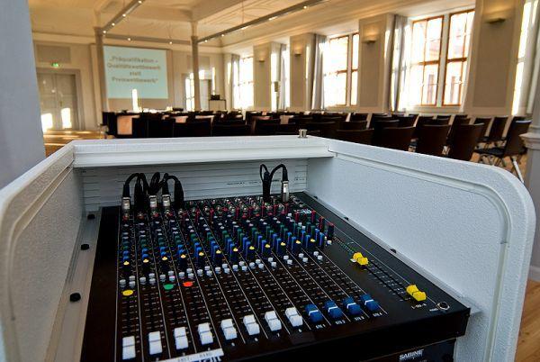 Beispiel: Technik, Foto: Schloss Ettersburg.
