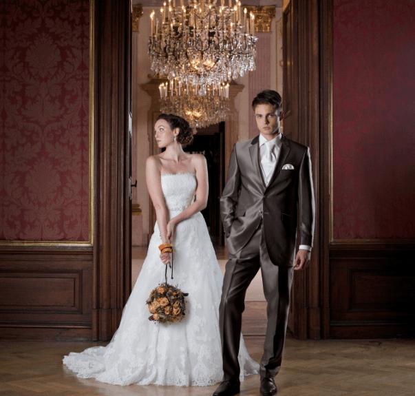 Beispiel: Brautpaar, Foto: Jagdschloss Eckartsau.
