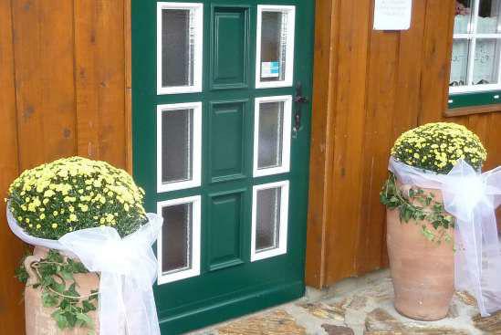 Foto: Rustikaler Eingang