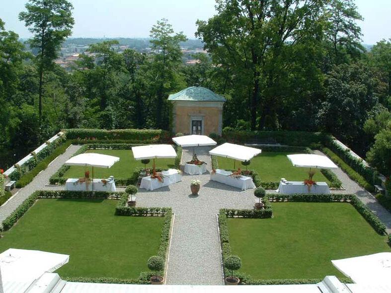 Il giardino di Villa Buttafava - Le Candie