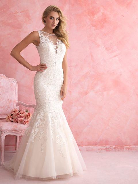 Marca: Allure Bridals. Modelo: 2807.