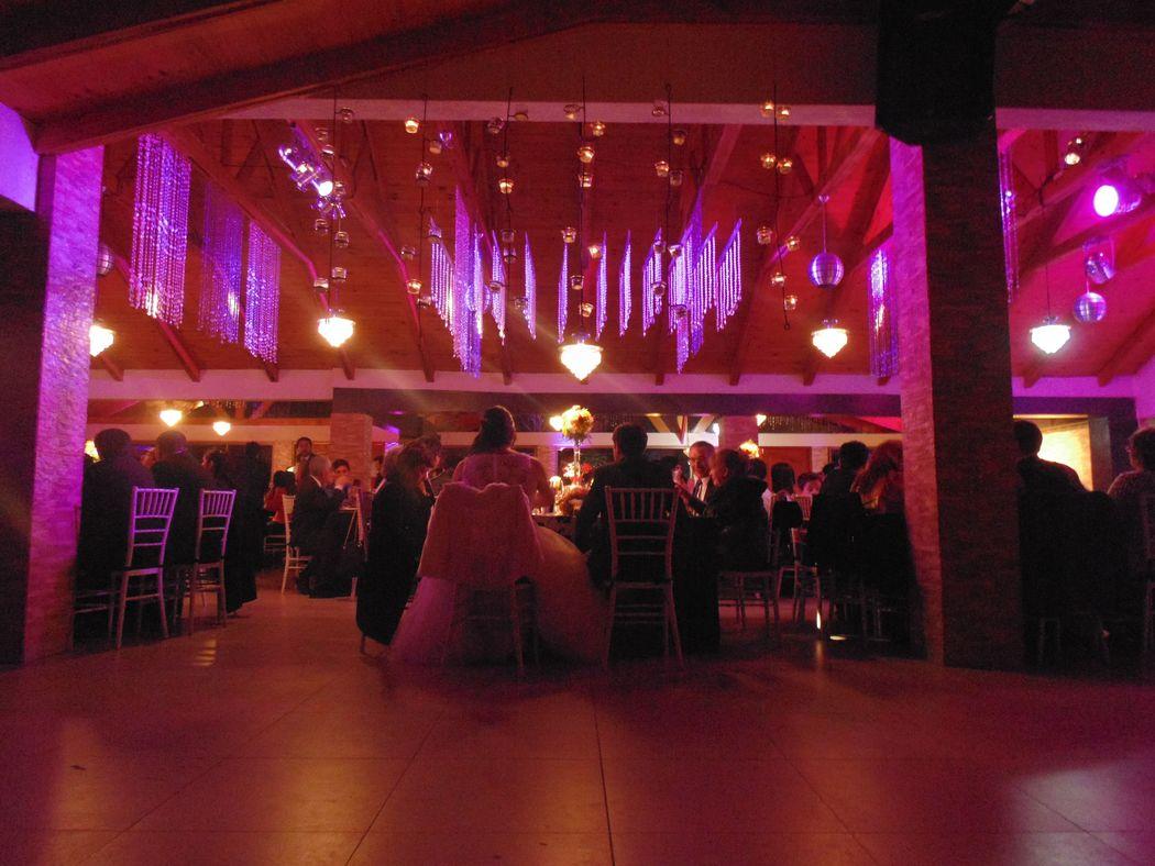 Cena de Boda en Centro de Eventos