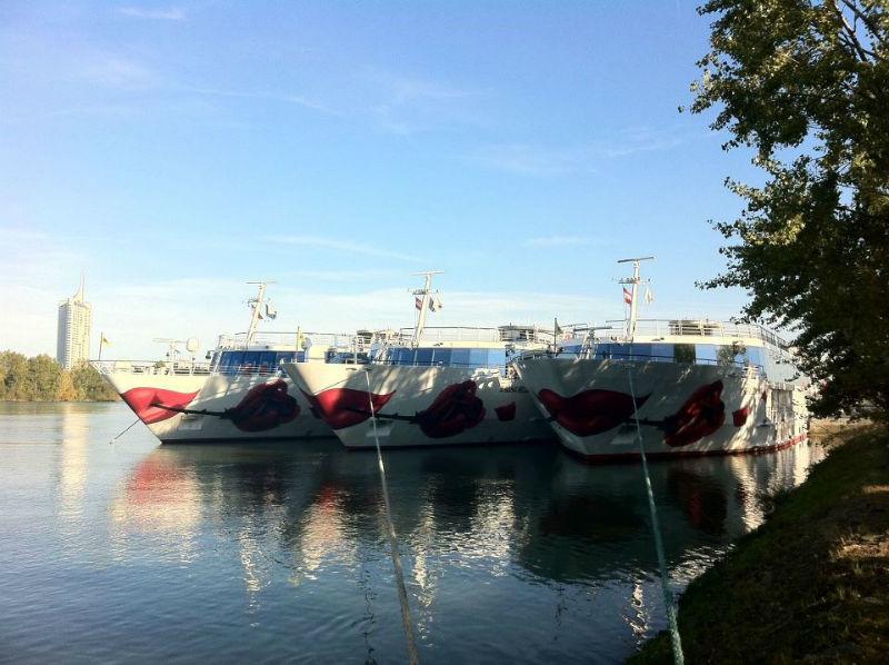 Beispiel: Kreuzfahrtschiffsflotte, Foto: A-Rosa.