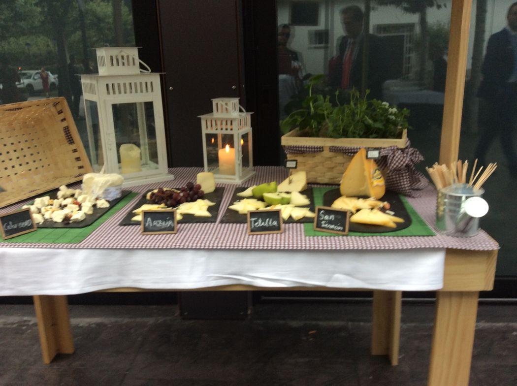 mesa quesos gallegos