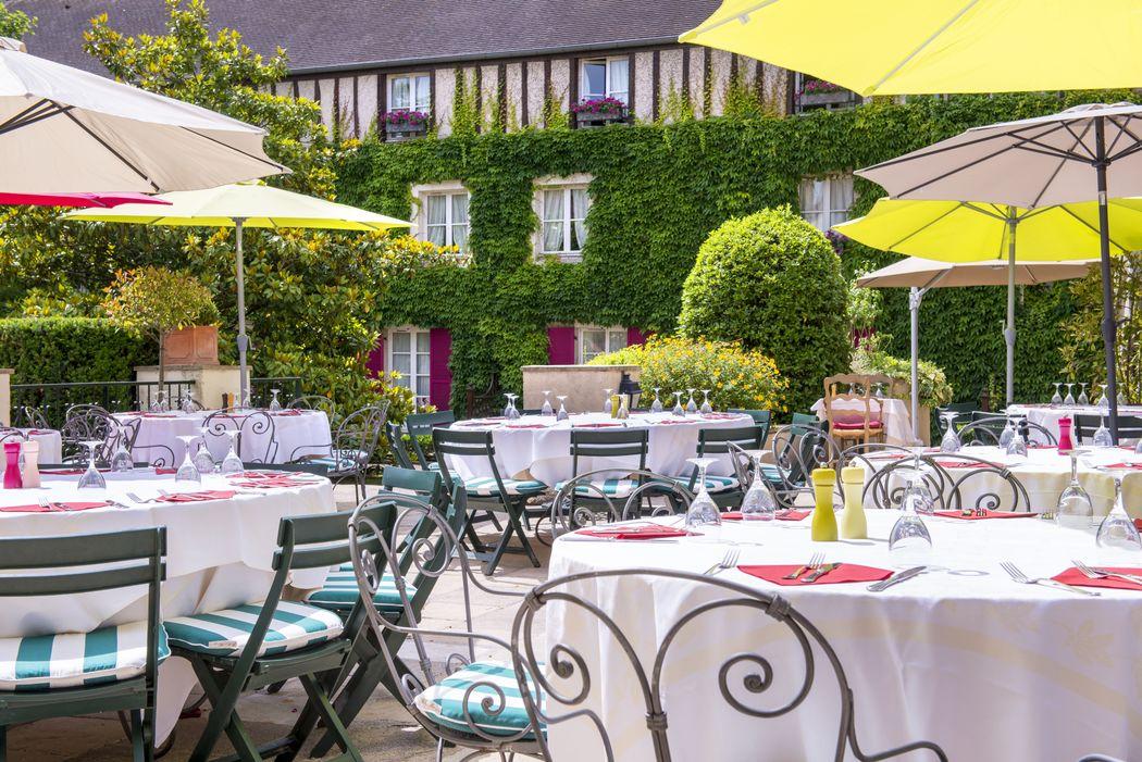 Terrasse du restaurant Le Cellier