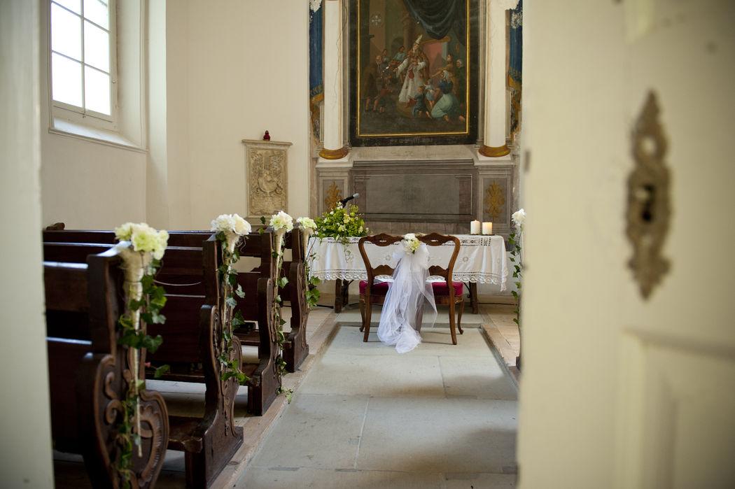 Charmante Kapelle im Schloss Reichenau Platz für 50-80 Personen