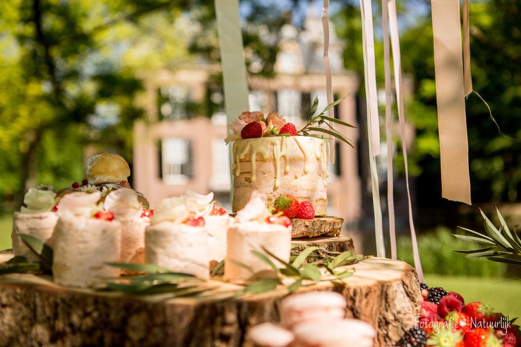 Romantische sweet table