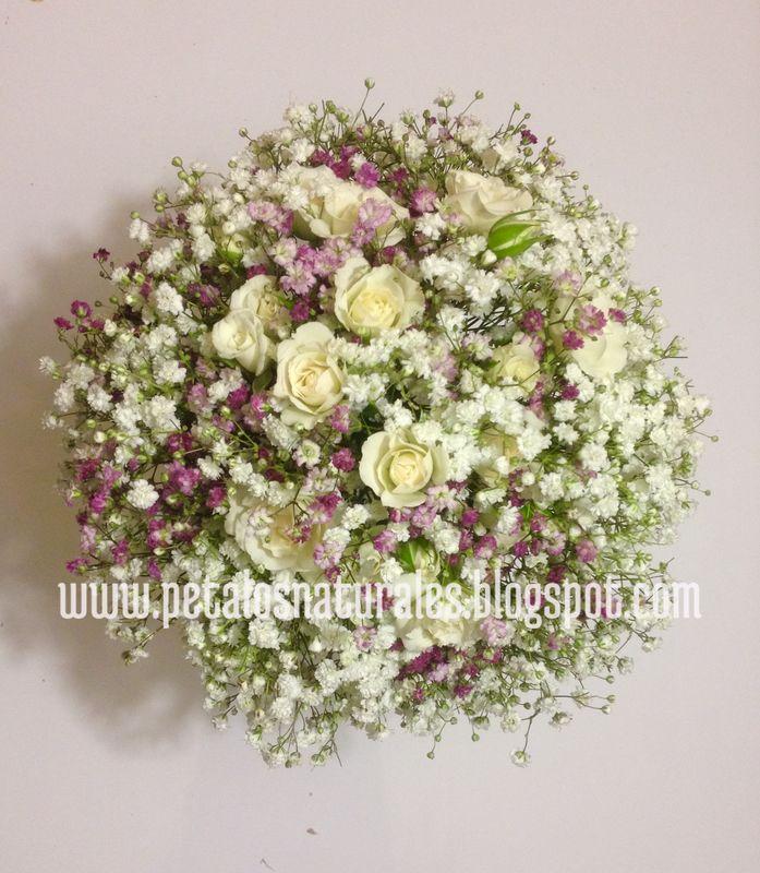 Paniculata rosa y blanca y rositas
