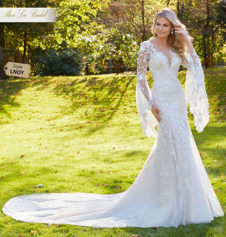Dress style LNOY Madonna Wedding Dress Colors Available: White, Ivory, Ivory/Champagne