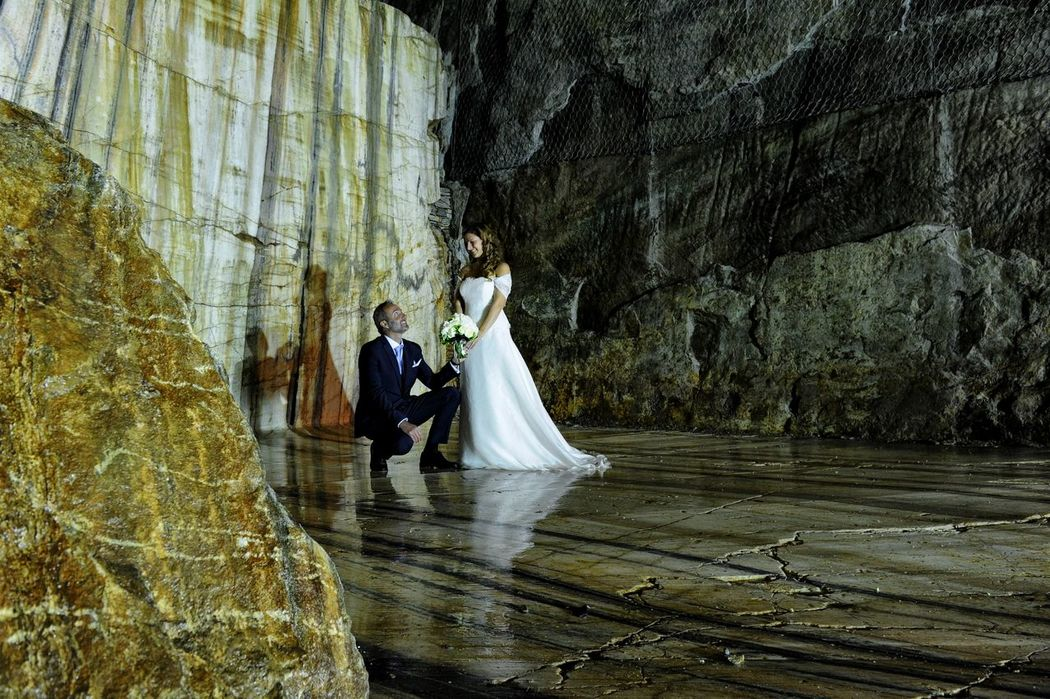 Just Married Grotta di Babbo Natale  - Mario Curti Photographer