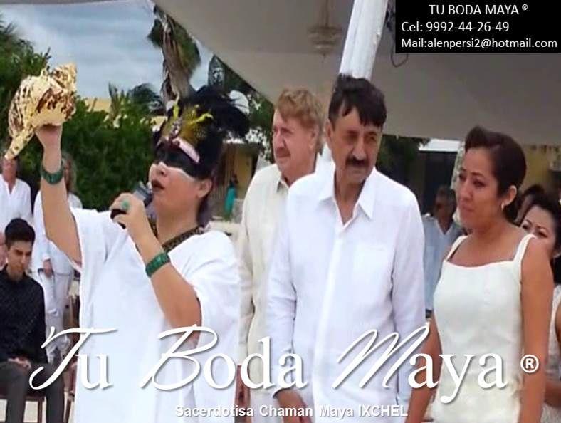 Tu Boda Maya Proveedor # 1 en Bodas y ceremonias Mayas en Yucatan Sacerdotisa Chaman Maya Ixchel