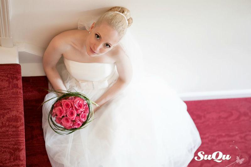 Beispiel: Portrait der Braut, Foto: SuQu-Fotodesign.