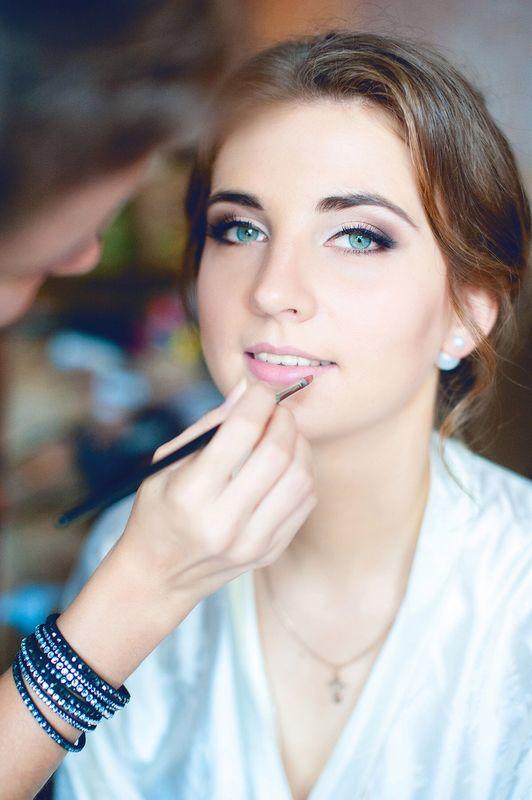 Прическа и макияж: я Фотограф: Анастасия Мельникович