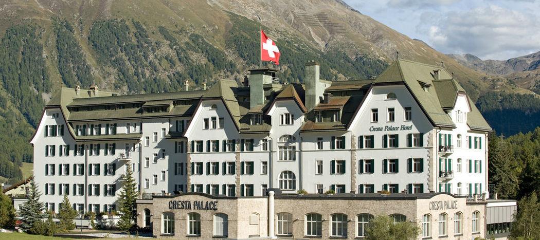 Beispiel: Außenansicht, Foto: Cresta Palace.