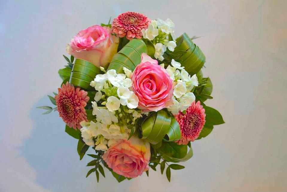 Beispiel: Ein Traum von einem Brautstrauß, Foto: Le langage des fleurs.