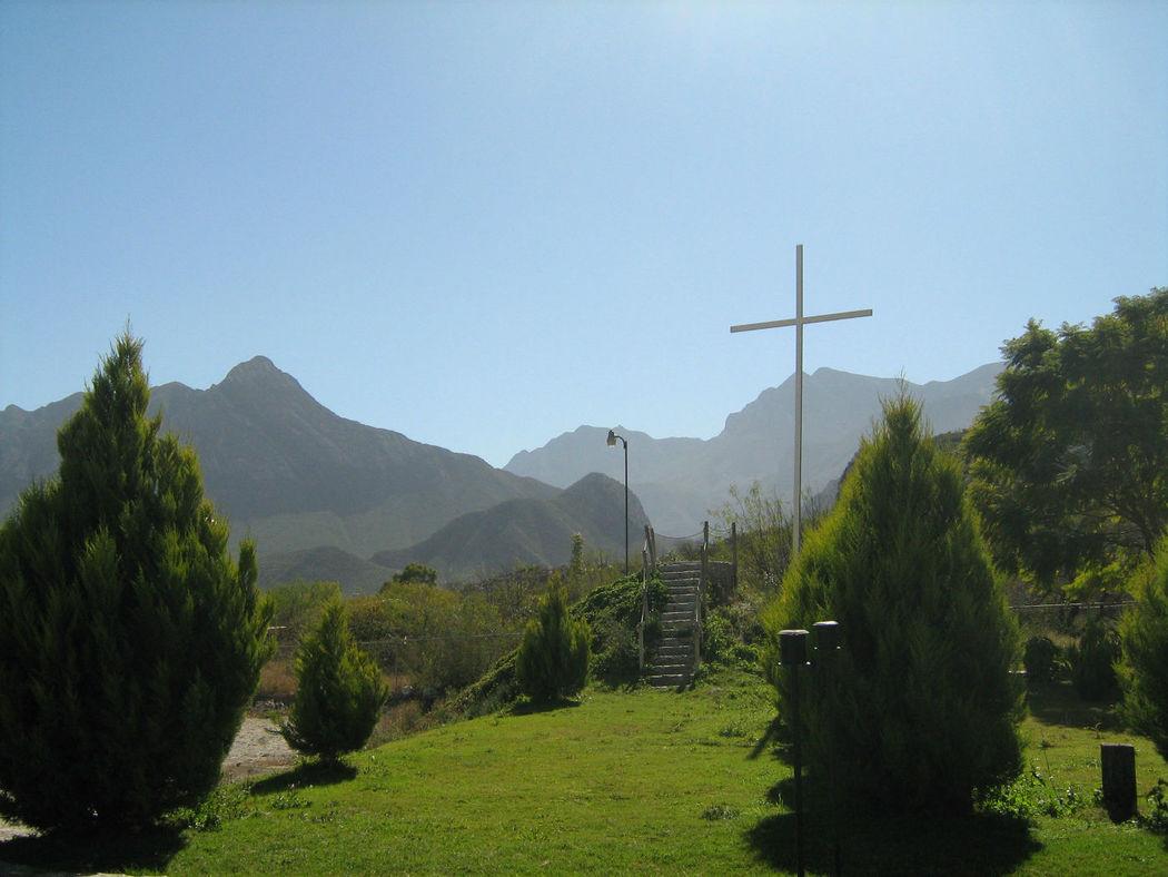Quinta Eucalipto. Jardín. Sta Catarina,NL.
