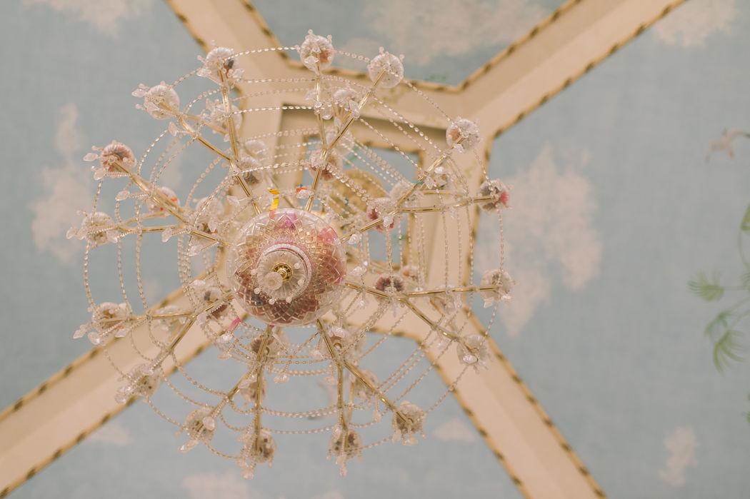 Lámpara techo Salón Los Molinos