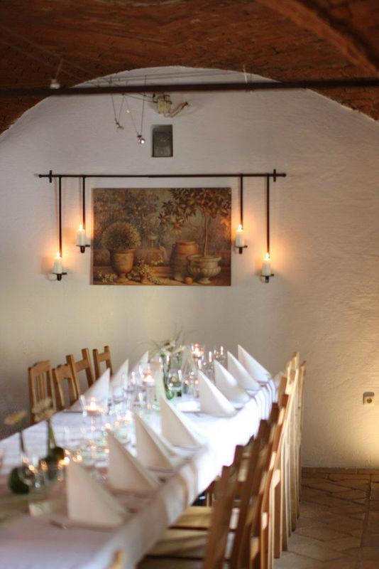 Beispiel: Hochzeitstafel, Foto: Falkner Gwölb.