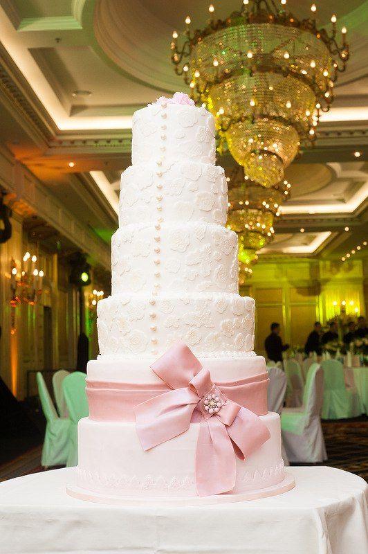 Свадебный торт 7 ярусов