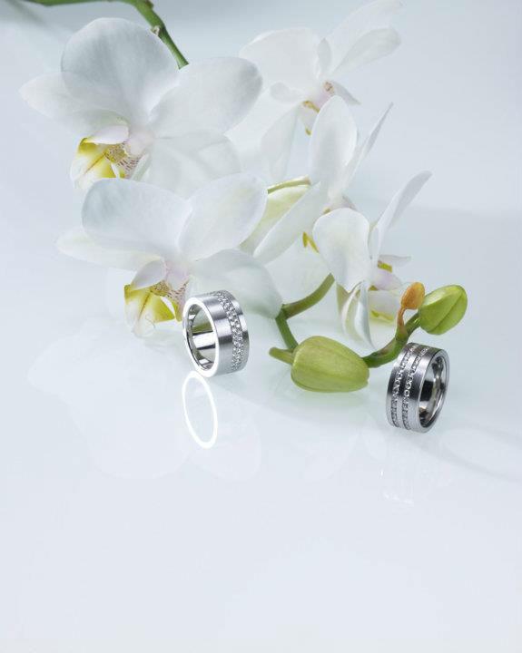 Beispiel: Ringe für die Ewigkeit, Foto: Stähli Goldschmied.