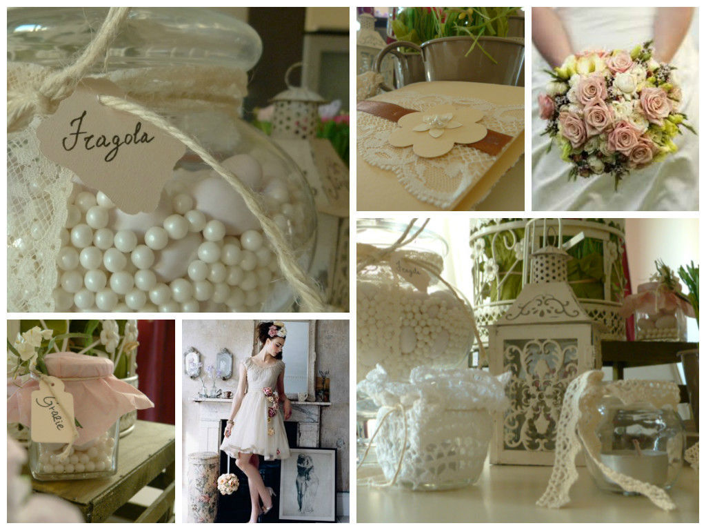 Collage Shabby style