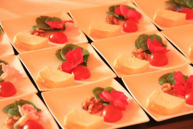 Beispiel: Leckere Speisen, Foto: Floris Catering.