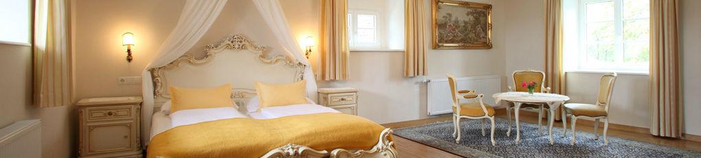 Beispiel: Zimmer, Foto: Burg Deutschlandsberg.