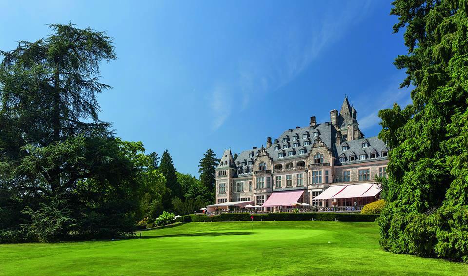 Beispiel: Ansicht des Hotels, Foto: Schlosshotel Kronberg.