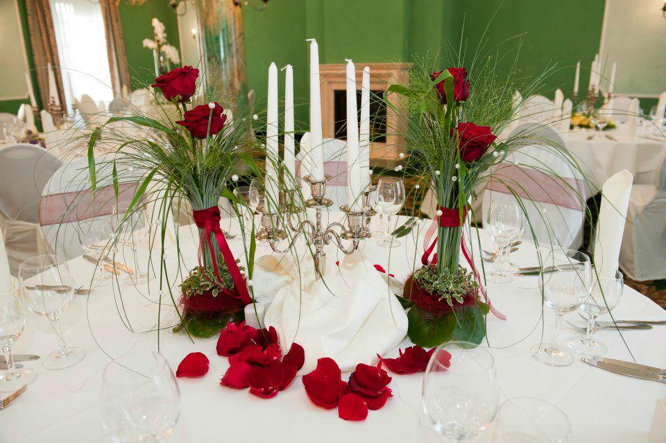 Beispiel: Farblich abgestimmte Konzepte, Foto: Achillea Dein Blumenladen.