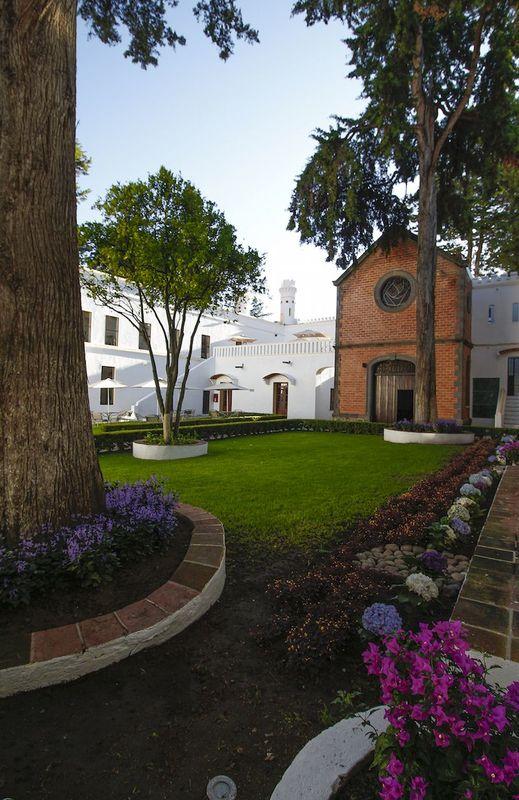 Jardín Capilla Hotel Misión Ex Hacienda de Chautla