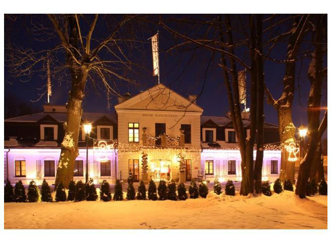 Hotel Kościuszko zimą