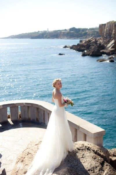 Luxurious Summer Wedding with amazing sea view in Portugal by Destination Weddings in Portugal
